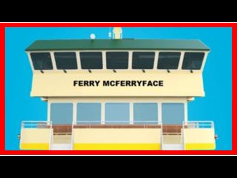 News-Sydney mcferryface Ferries Ferry named
