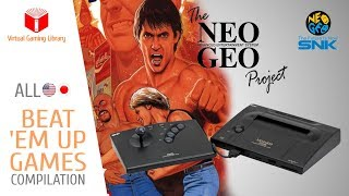 All NeoGeo AES Beat 'Em Up Games Compilation - Home Console Version - Every Game (US/JP)