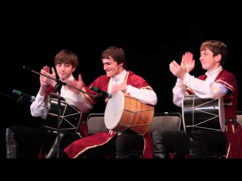 Кавказские ритмы на барабане доули