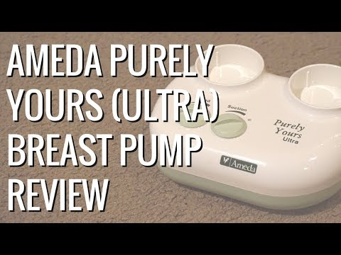 Ameda Purely Yours Ultra Breast Pump Review // Momma Alia