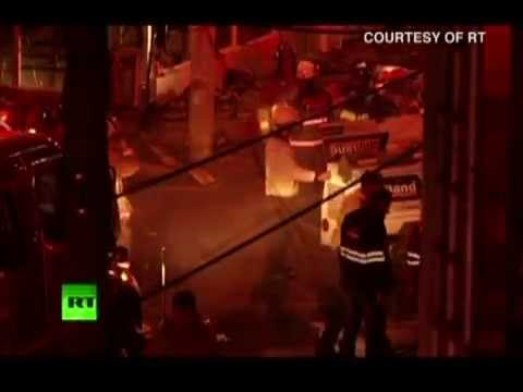 Plane crashes into Colombian bakery | CEEN Caribbean News | Oct 19, 2015