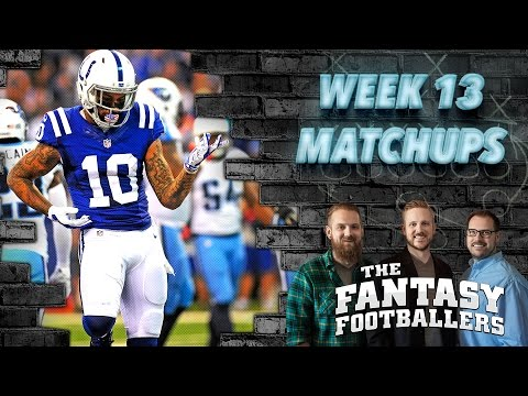 Fantasy Football 2016 - Week 13 Matchups, In-or-Out, Playoff Push - Ep. #319
