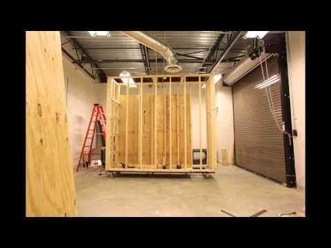 Movable walls build out for Art Museum of West Virginia University