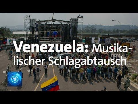 Machtkampf in Venezuela - Konzerte als musikalischer Schlagabtausch