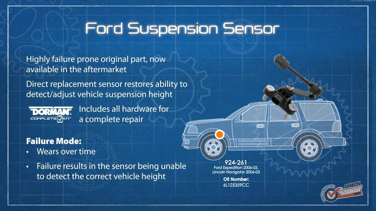 03 Ford Truck 2wd Suspension Diagram Ride Height Sensor Youtube
