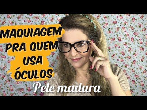 Maquiagem Pra Quem Usa óculos - Pele Madura