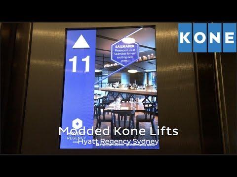 MOTOR REPLACED: Kone Monospace MRL Traction Lifts @ Hyatt Regency Sydney