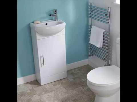 Cloakroom Vanity Units with Basin and Toilet