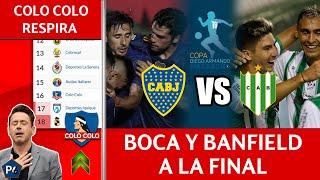 ECUADOR tiene NUEVA SUPERCOPA 🔥COLO COLO HUYE de la B🔥 FINAL BOCA/BANFIELD (RIVER sin NADA)🔥😱