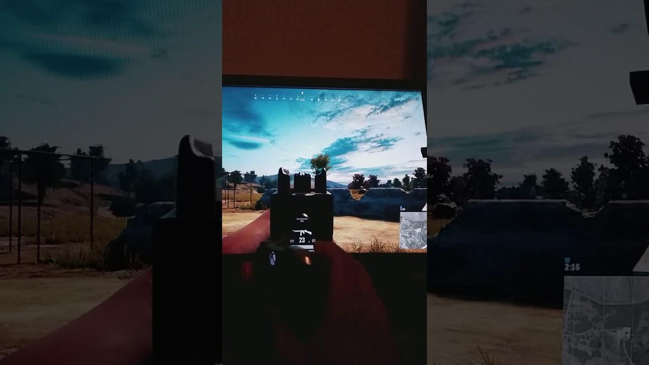 PUBG Firing Input Lag (Xbox One X)