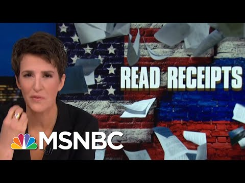 Donald Trump Jr. Seems Relevant To Robert Mueller Paths Of Inquiry | Rachel Maddow | MSNBC
