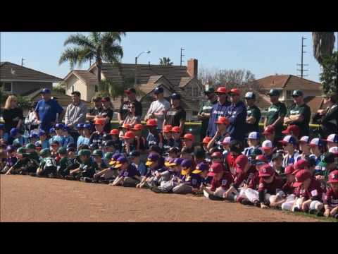 Seaview Little League Opening Day 2017
