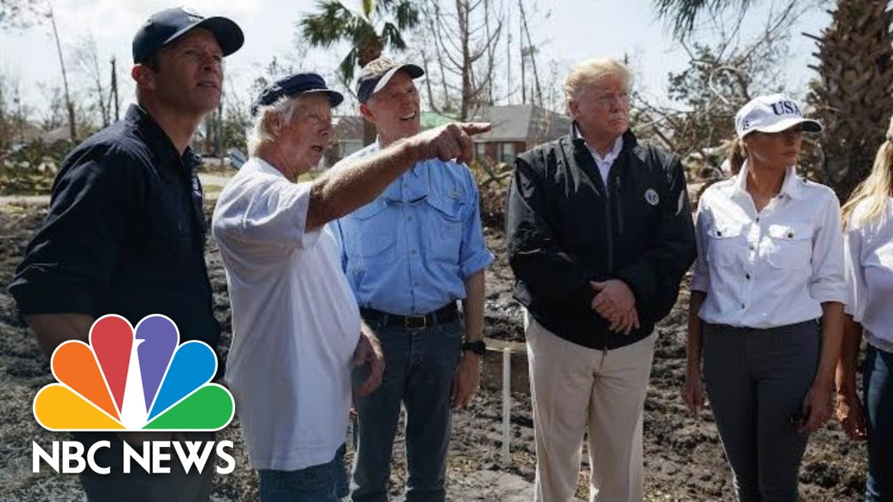 scenes-from-president-donald-trump-s-post-hurricane-michael-visit-to-florida-and-georgia-nbc-news