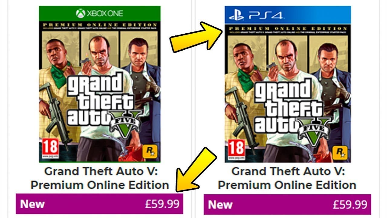 Grand Theft Auto V: Premium Online Edition OFFICIAL Announcement - What's  Included & Should You Buy?
