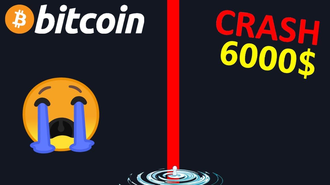 BITCOIN LE CRASH NE FAIT QUE COMMENCER !? btc analyse technique crypto monnaie