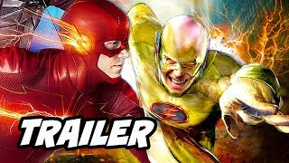 The Flash 5x10 Promo - Reverse Flash and Zoom Easter Egg Scene Breakdown