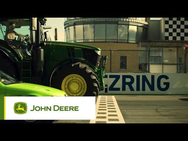 John Deere - Tracteur Série 6R - Léger, puissant, intelligent