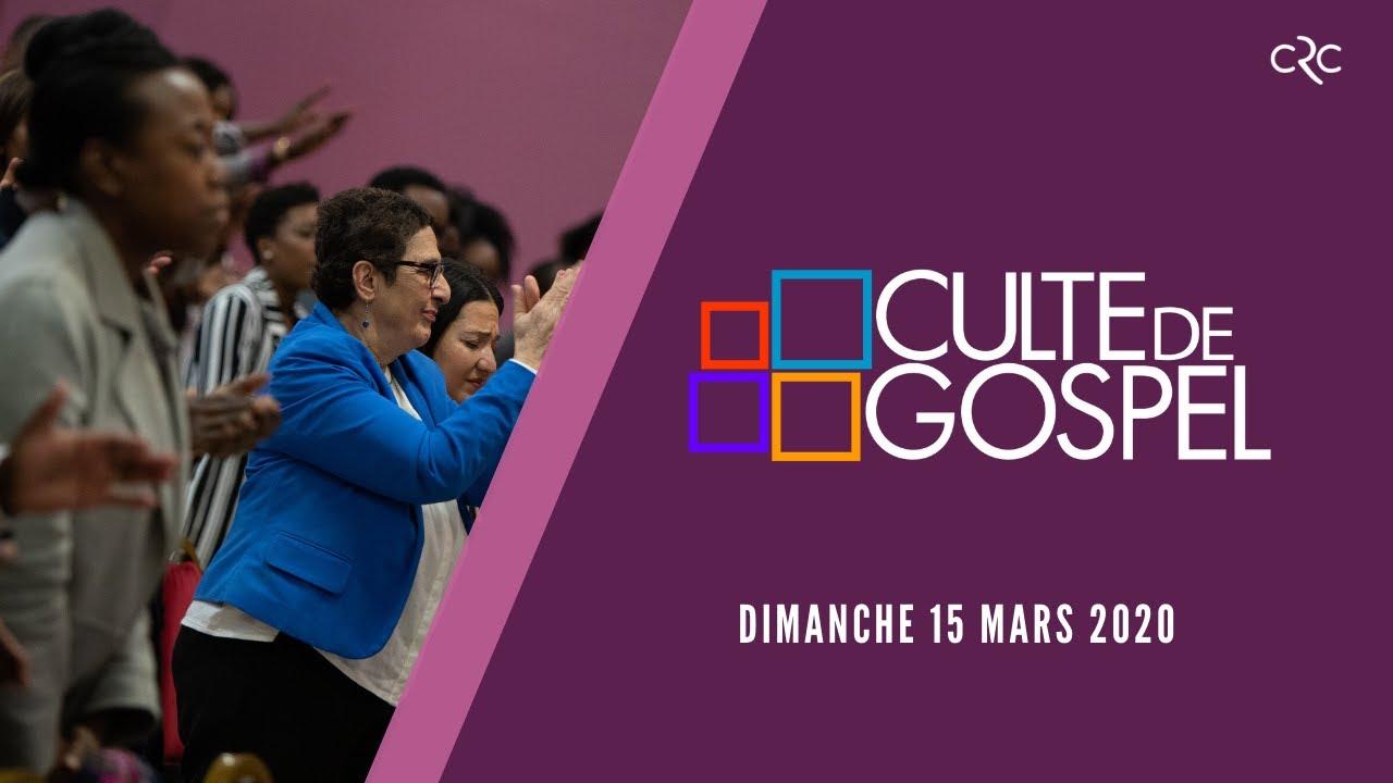 Culte de Gospel de Paris du [15 mars 2020]