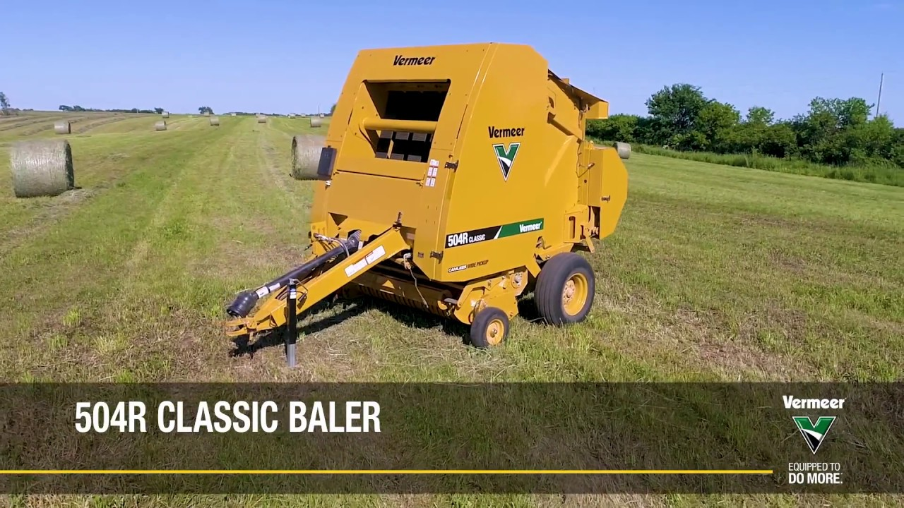 504R Classic | Equipment | Vermeer