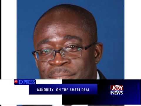 The Ameri Controversy - PM Express on Joy News (14-12-15)