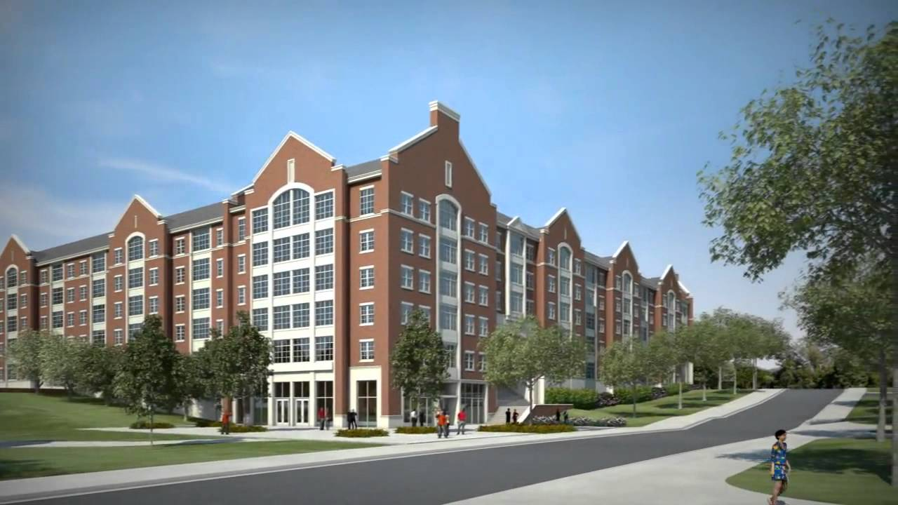 Auburn athletics new dorms youtube for Best college dorms in the us