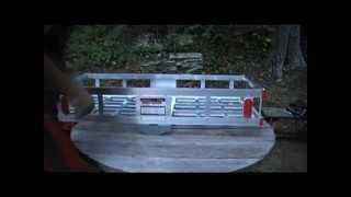 Harbor Freight Aluminum Luggage rack