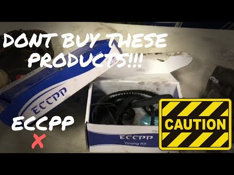 WATCH THIS BEFORE BUYING ECCPP AUTO PARTS PRODUCTS!!!!