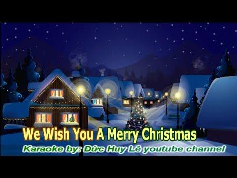 We Wish You A Merry Christmas Karaoke Lyrics