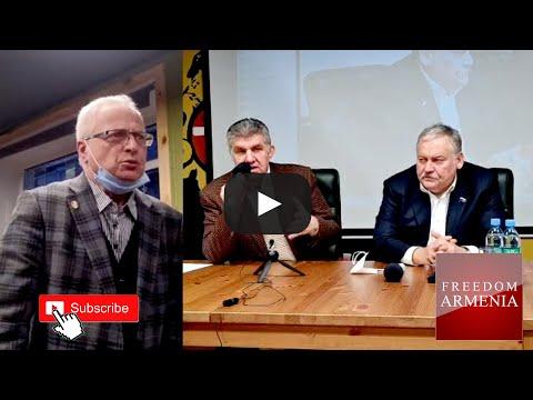 Встречи Константина Затулина и Ара Абрамяна с общественностью в Союзе Армян России.