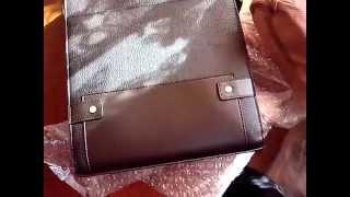 Распаковка посылок № 22 и 23. Мужская сумка-мессенджер и микрофон.(, 2014-03-31T10:38:35.000Z)