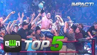 5 Most SHOCKING World Title Wins in IMPACT History | GWN Top 5