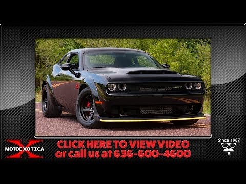 2018 Dodge Challenger Demon || For Sale