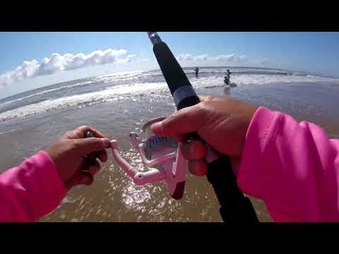 Surf Fishing In South Padre Island