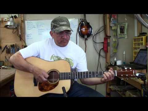 Jimmy Edmonds D18 style guitar