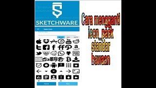 Cara ganti icon pack bawaan sketchware   Sketchware tutorial
