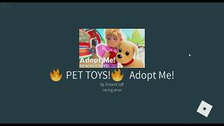 ROBLOX ADOPT ME! IN ENGLISH ? MY FIRST VIDEO