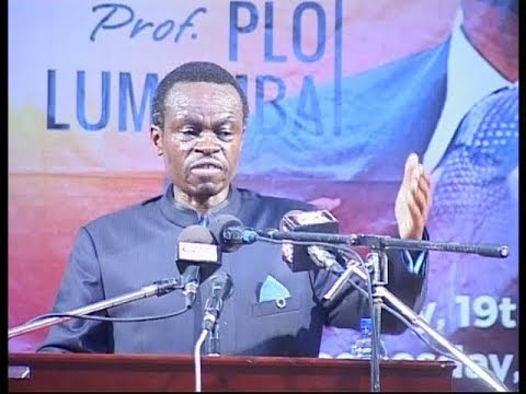 PLO Lumumba' s Best Speech In Ghana on African Leadership 2017