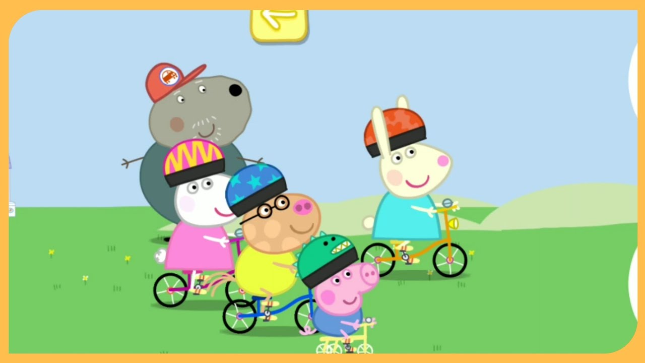Свинка Пеппа и ее друзья НОВАЯ игра День спорта - YouTube