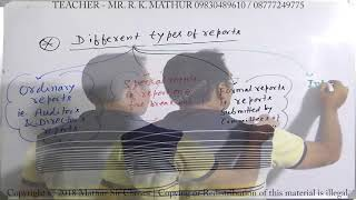 Report and its types | Business communication | Mathur Sir Classes