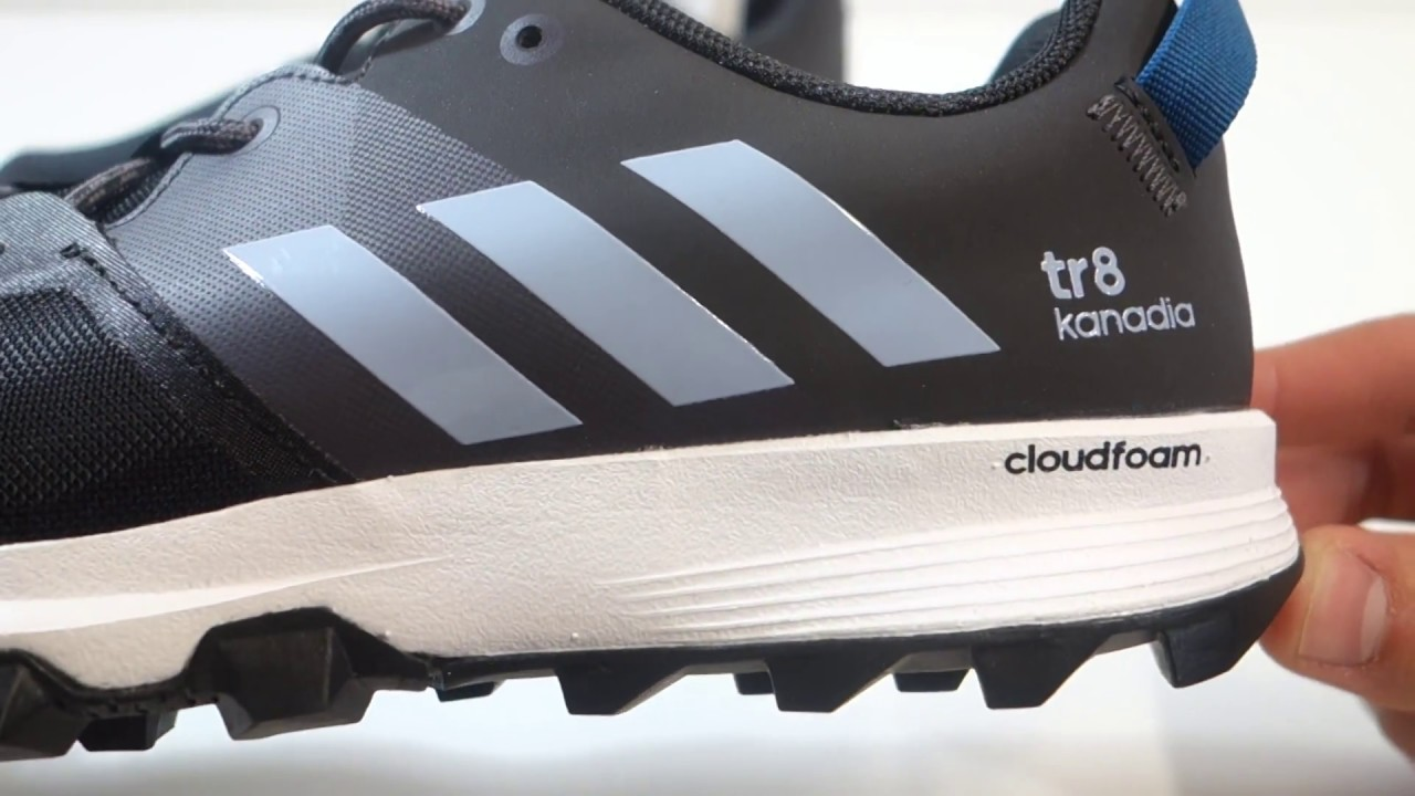 Pánské běžecké boty značky adidas kanadia 8 tr m - YouTube e2e70a144aa