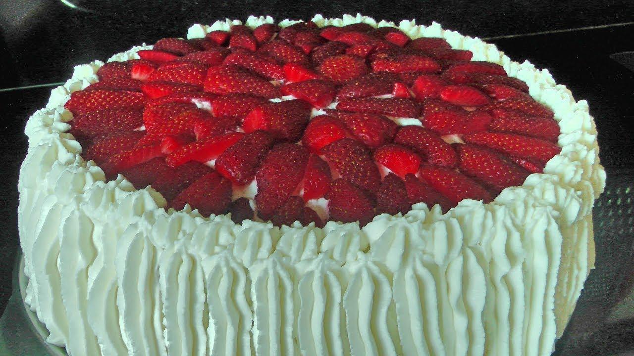 Como Hacer Torta De Cumpleaños Para Festejar Feliz Acqua Rosa Recetas Youtube