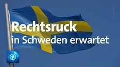 Vor Wahl in Schweden: Rechtsruck erwartet
