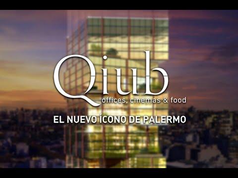 Qiub. Nuevo Proyecto en Palermo. Offices, Cinemas & Food