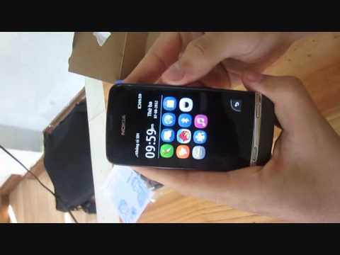 Đà Nẵng Nokia Team - Đập hộp Nokia Asha 311