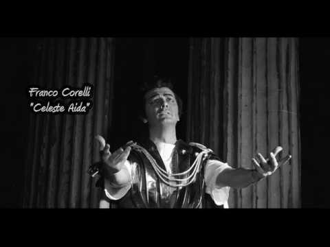 """Franco Corelli - """"Celeste Aida""""  (Verdi)  Philadelphia 1972"""