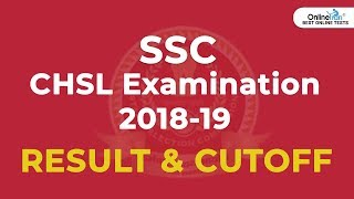 SSC CHSL Result & Cutoff 2018-19