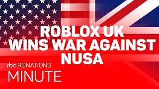 ROBLOX UK wins war against NUSA (Ro-Nations Minute)