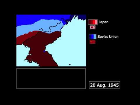 [WWII] The Soviet Invasion of Korea (1945): Every Day