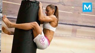 HOTTEST UFC Fighter - Alexandra Albu   Muscle Madness