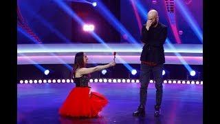 """Alina Handuc, emoții pe scena """"iUmor"""": Mihai Bendeac, cerut în căsătorie printr-o poezie de dragoste"""